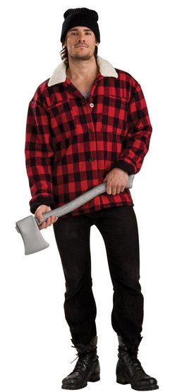 Adult Mens Lumber Jack Costume