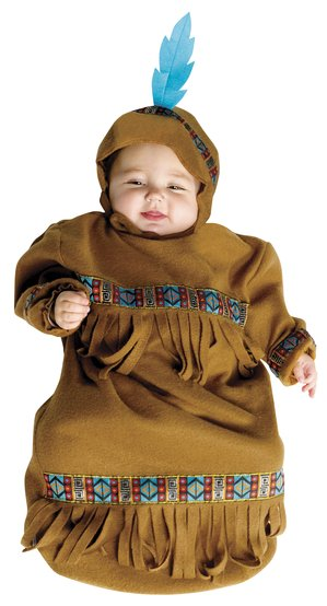 Indian Papoose Bunting Baby Costume