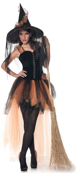 Sexy Hallow's Eve Witch Costume