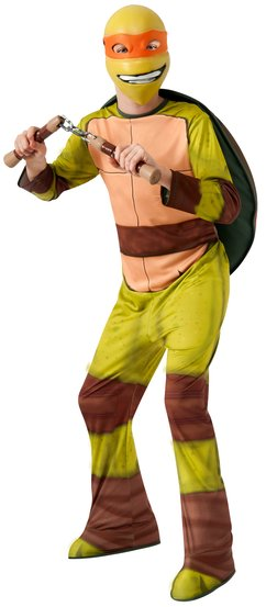 Michaelangelo Ninja Turtle Kids Costume