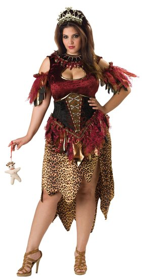 Voodoo Priestess Plus Size Costume