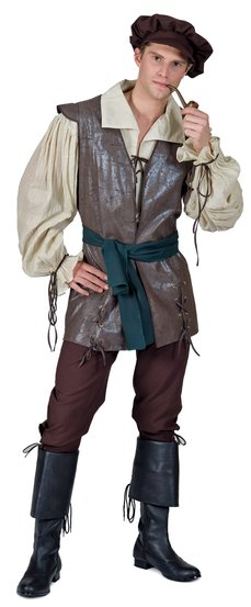 Medieval Peasant Man Adult Costume