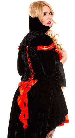 Blood Sucking Vampire Countess Plus Size Costume - Mr ...